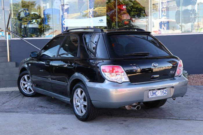 2006 Subaru Impreza RV S MY07 Four Wheel Drive Black