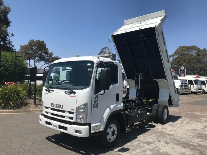 2008 Isuzu FRR500 FRR500 STEEL TIPPER WHITE