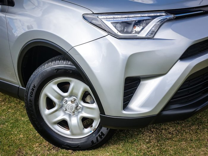 2017 Toyota RAV4 GX ASA44R 4X4 On Demand Silver