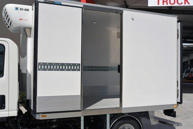 2019 Isuzu NLR 45-150 TC AMT SWB White