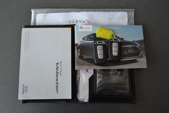 2014 Hyundai Veloster SR Turbo FS3 Silver