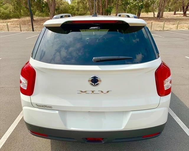 2018 SSANGYONG TIVOLI XLV ELX TIVOLI XLV X100 MY19 ELX Grand White