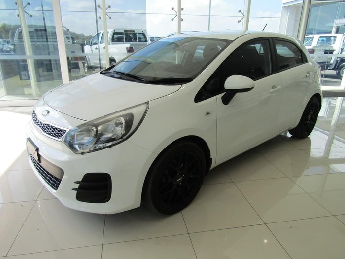 2015 Kia Rio S UB MY16 Clear White