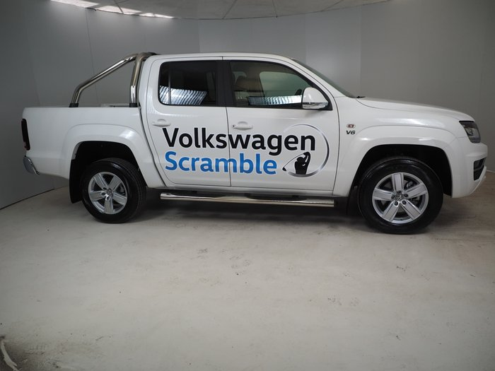 2019 Volkswagen Amarok TDI550 Highline 2H MY19 4X4 Constant White