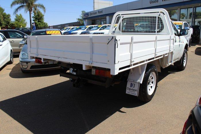 2008 Mitsubishi Triton GLX ML MY08 4X4 Dual Range White