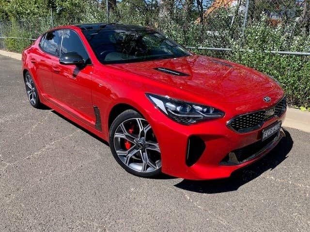 2018 Kia Stinger GT CK MY18 Red