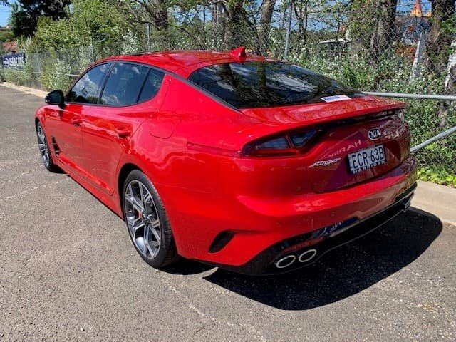 2018 Kia Stinger GT CK MY18 Red