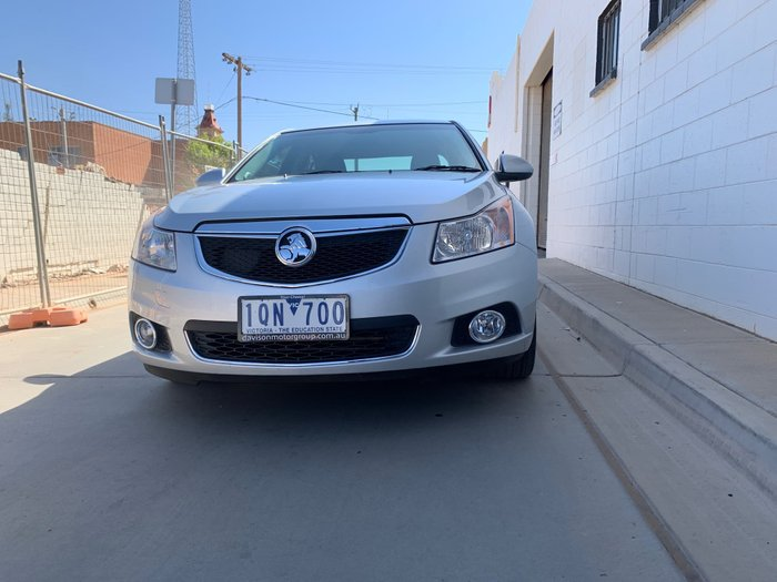 2011 Holden Cruze CD JH Series II MY11 Silver