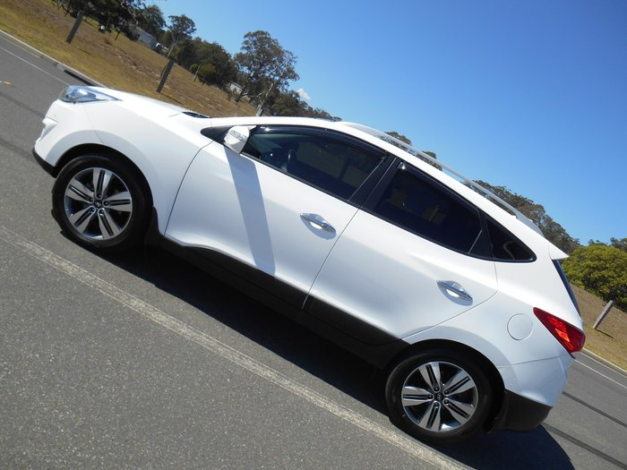 2014 Hyundai ix35 Highlander Series II 4X4 On Demand White