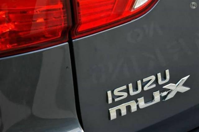 2019 Isuzu MU-X LS-T MY19 4X4 Dual Range OBSIDIAN GREY