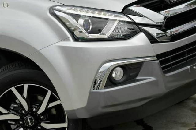2019 Isuzu MU-X LS-U MY19 4X4 Dual Range TITANIUM SILVER