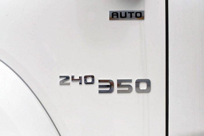 2019 Isuzu FXZ 240-350 AUTO MWB White