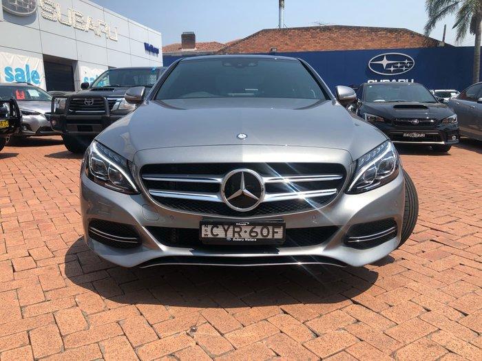 2015 Mercedes-Benz C-Class C250 BlueTEC W205 Silver