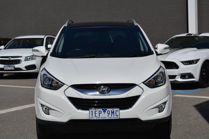 2015 Hyundai ix35 Highlander Series II MY15 4X4 On Demand White