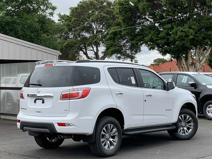 2019 Holden Trailblazer Storm RG MY20 4X4 Dual Range Summit White