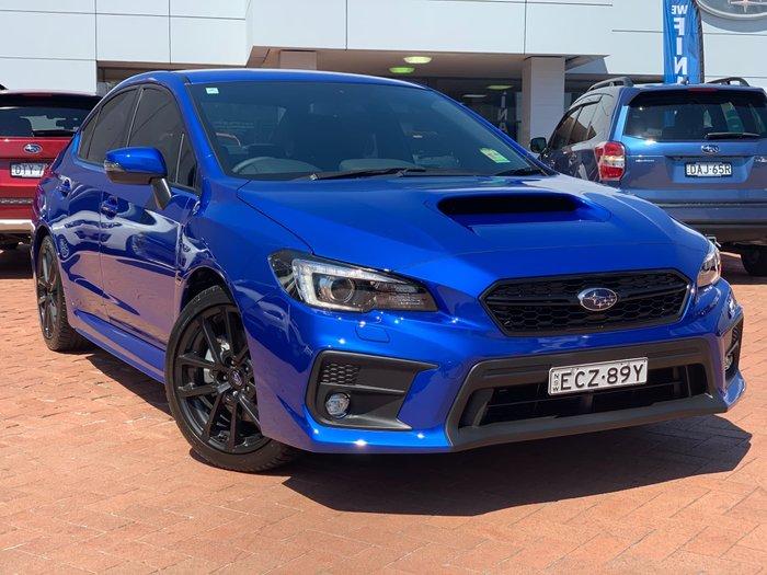 2019 Subaru WRX V1 MY20 Four Wheel Drive Blue