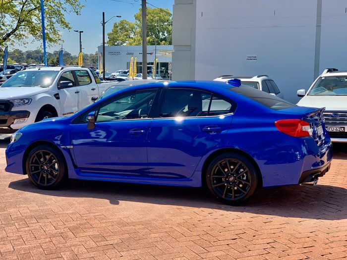 2019 Subaru WRX V1 MY20 Four Wheel Drive Blue