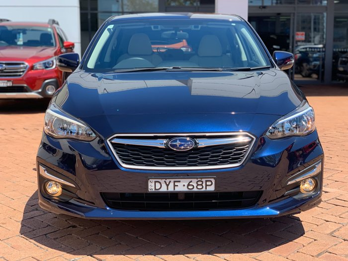 2018 Subaru Impreza 2.0i Premium G5 MY19 Four Wheel Drive Blue