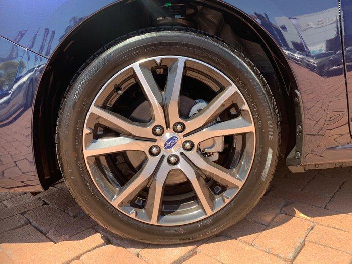 2018 Subaru Impreza 2.0i Premium G5 MY19 Four Wheel Drive Blue
