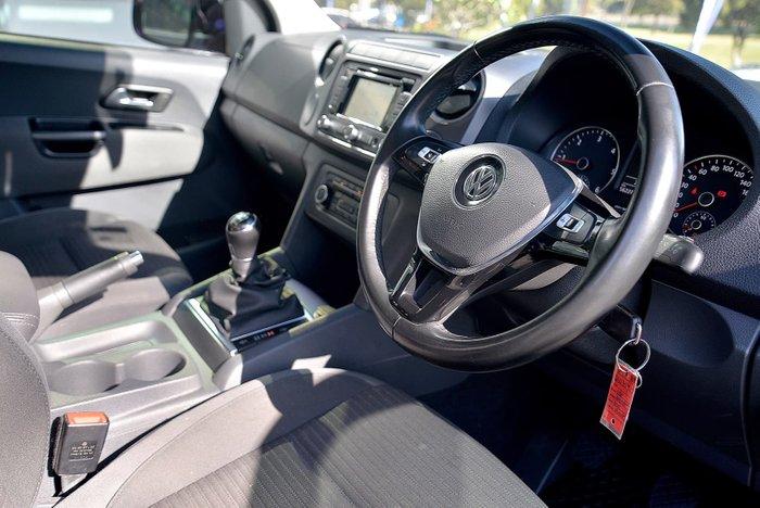 2015 Volkswagen Amarok TDI400 Highline 2H MY16 4X4 Dual Range Black