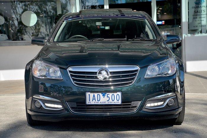 2013 Holden Calais V VF MY14 Green