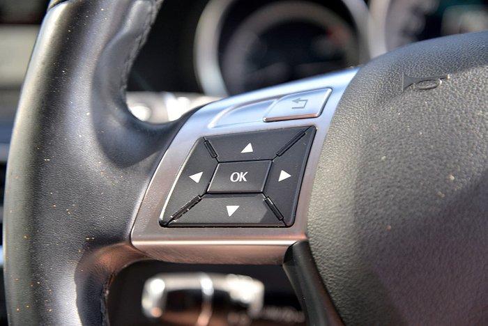 2012 Mercedes-Benz C-Class C200 BlueEFFICIENCY W204 MY13 Silver