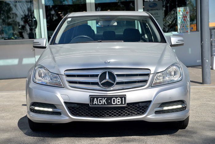 2012 Mercedes-Benz C-Class C200 BlueEFFICIENCY W204 MY13 Silver