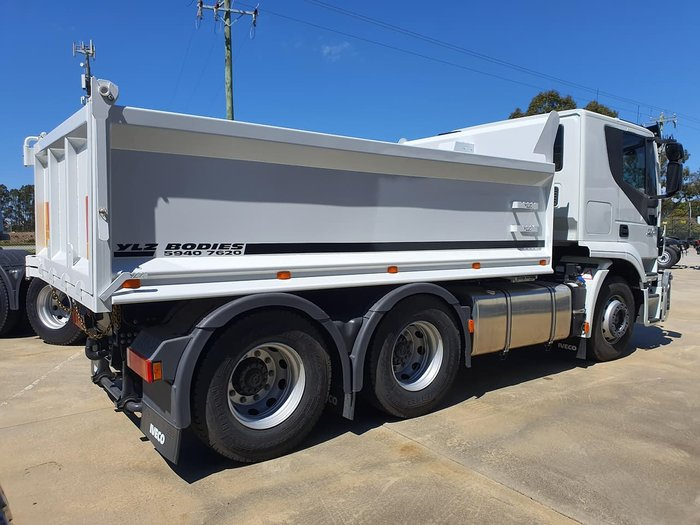 2018 IVECO STRALIS ATI 460HP AUTO TIPPER - READY TO WORK! null null White