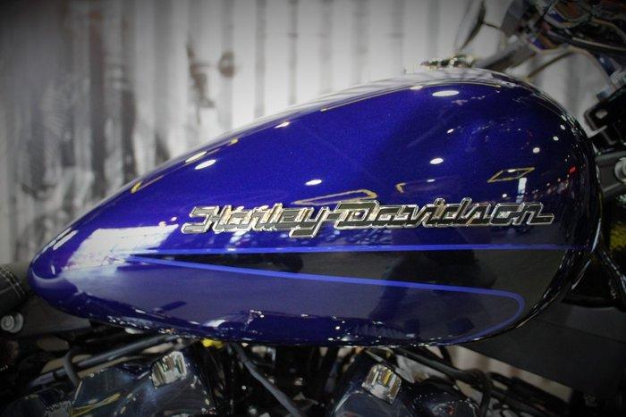 2020 Harley-davidson FXBRS BREAKOUT S (114) CUST TT Zephyr Blue/Black Sunglo
