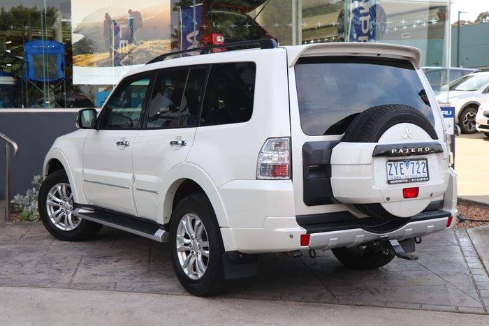 2013 Mitsubishi Pajero Exceed NW MY13 4X4 White