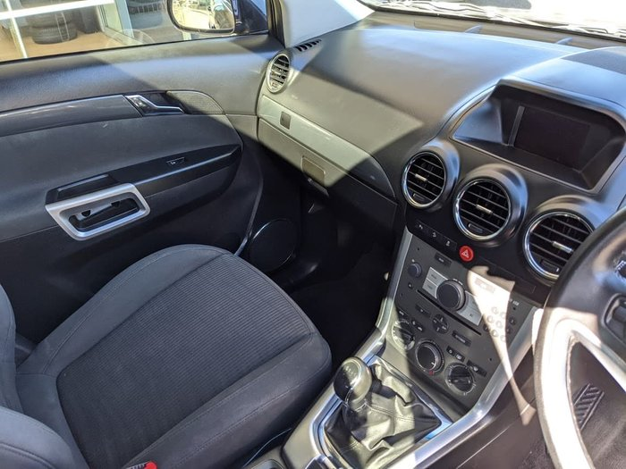 2013 Holden Captiva 5 CG Series II MY12 Grey