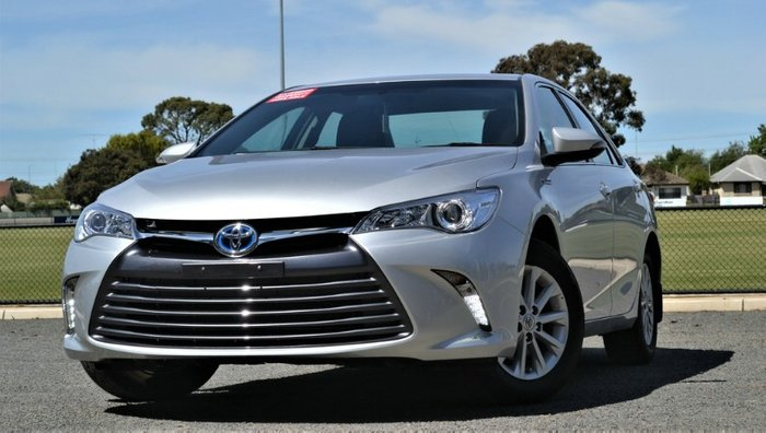 2016 Toyota Camry Altise AVV50R PEARL SILVER