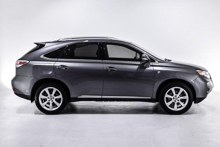 2011 Lexus RX RX350 X GGL15R MY11 4X4 On Demand Grey