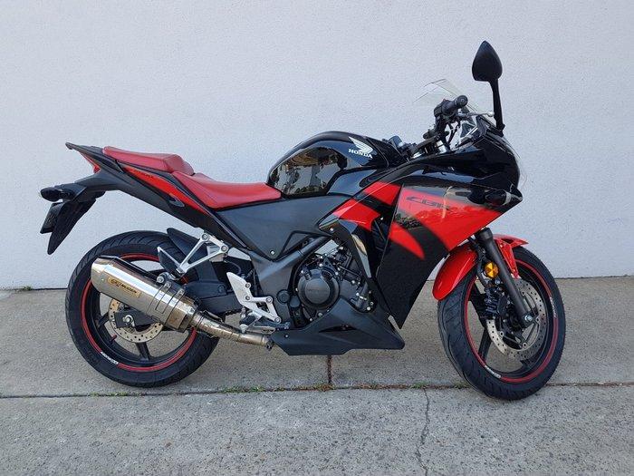 2013 Honda CBR250R Black
