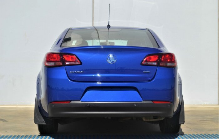 2017 Holden Commodore Evoke VF Series II MY17 SLIPSTREAM BLUE