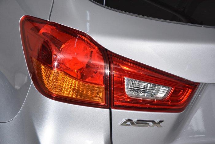 2016 Mitsubishi ASX LS XC MY17 Silver