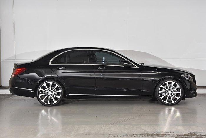 2015 Mercedes-Benz C-Class C250 BlueTEC W205 Black