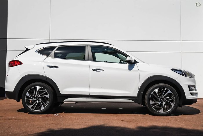 2019 Hyundai Tucson Highlander TL3 MY20 4X4 On Demand White