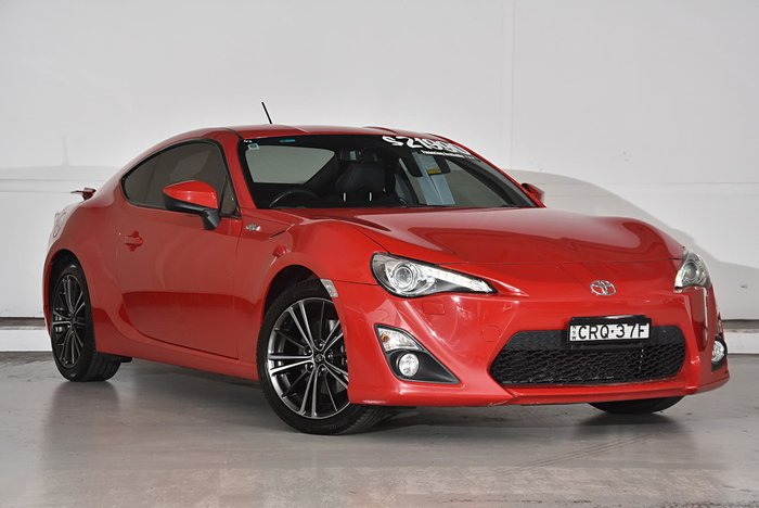 2013 Toyota 86 GTS ZN6 Red
