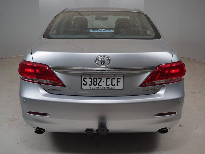 2011 Toyota Aurion Prodigy GSV40R MY10 Silver