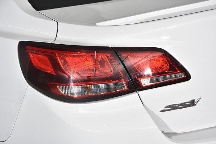 2014 Holden Commodore SS V VF MY14 White