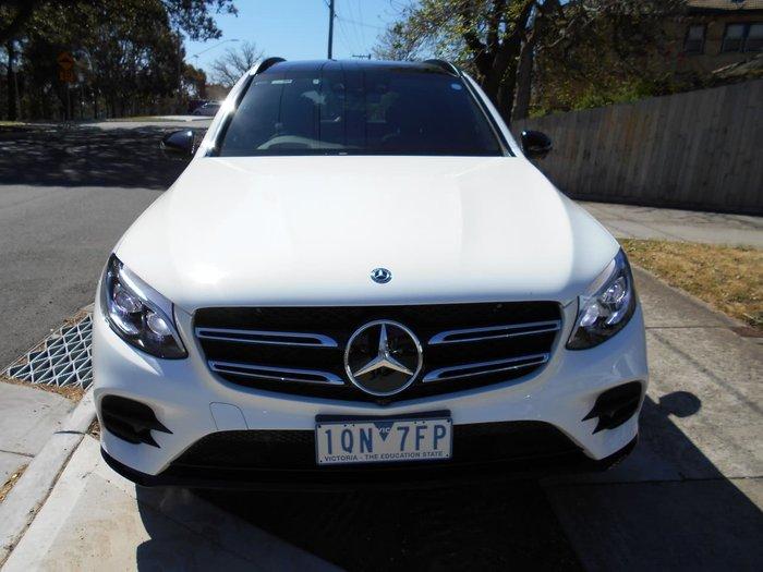 2019 Mercedes-Benz GLC-Class GLC250 X253 Four Wheel Drive White