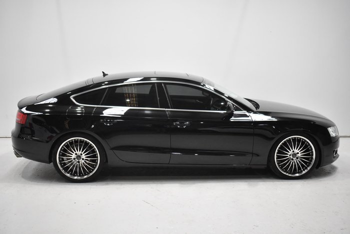 2009 Audi A5 8T MY10 Four Wheel Drive Black