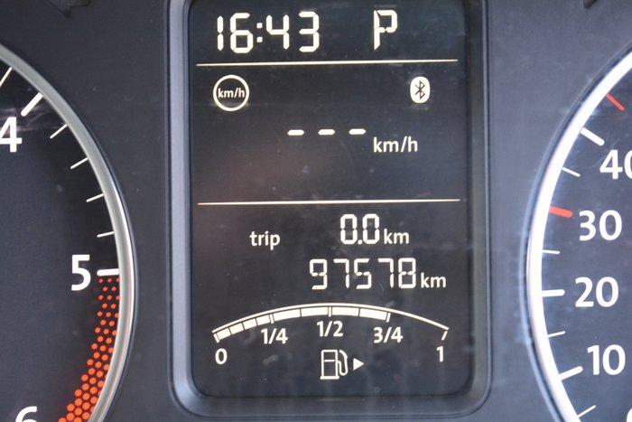 2012 Volkswagen Polo 66TDI Comfortline 6R MY13 White
