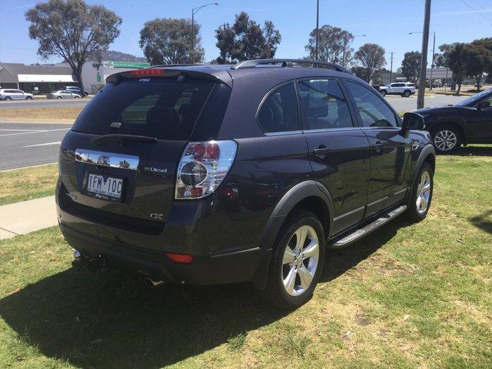 2013 Holden Captiva 7 CX CG MY13 4X4 On Demand Grey