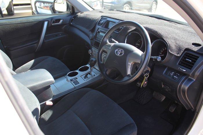 2009 Toyota Kluger KX-R GSU40R Silver