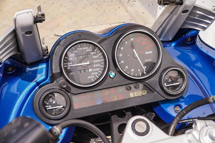2001 BMW K 1200 RS null null Blue