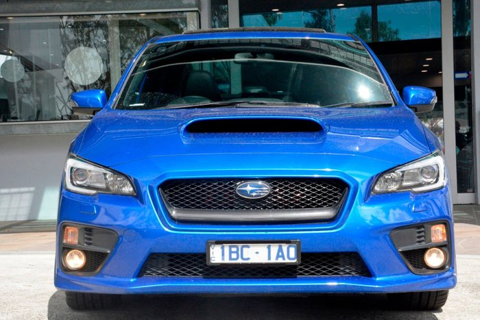 2014 Subaru WRX Premium V1 MY15 Four Wheel Drive Blue