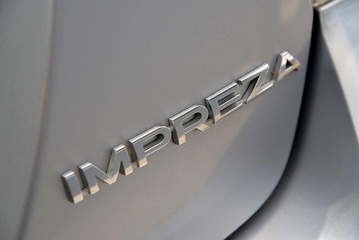 2016 Subaru Impreza 2.0i Premium G4 MY16 Four Wheel Drive Silver