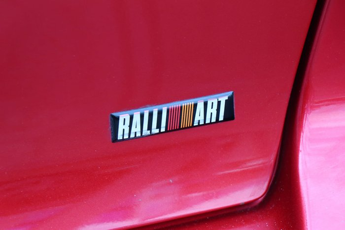 2009 Mitsubishi Lancer Ralliart CJ MY10 Four Wheel Drive Red